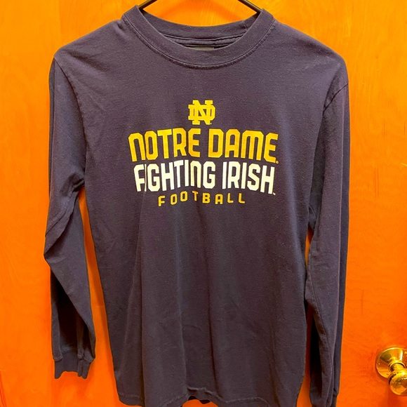 Youth size large Notre Dame long sleeve t-shirt